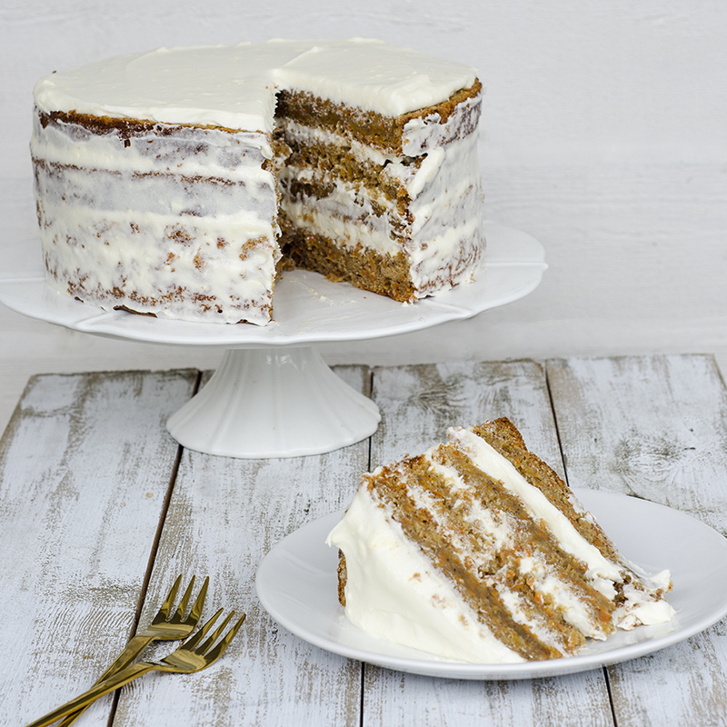 Layered Carrot Cake Easier Than You Think House Of Treats